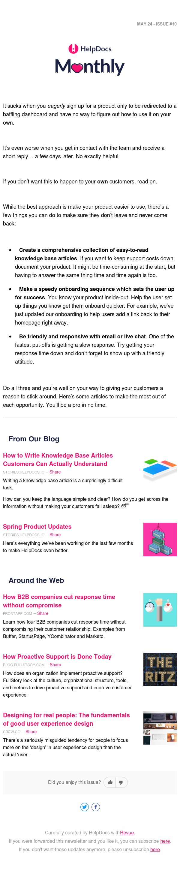 💯 Making Your Product Easy for Customers