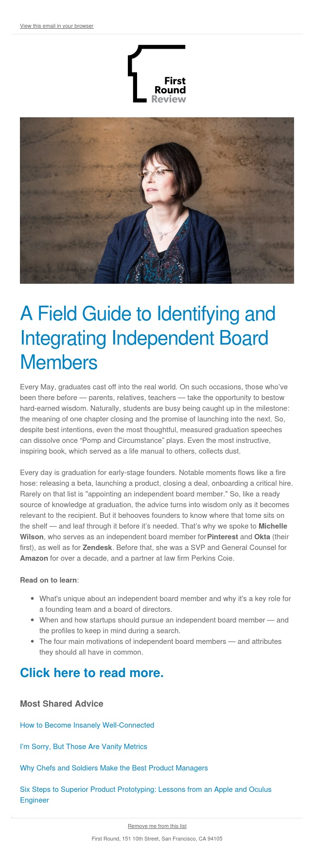 A Field Guide to Identifying and Integrating Independent Board Members