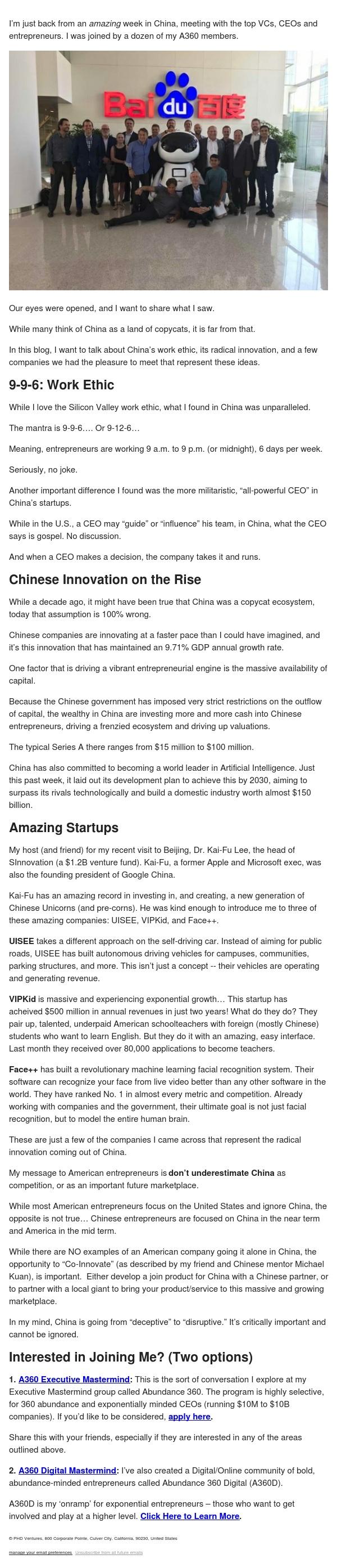 china – deceptive to disruptive