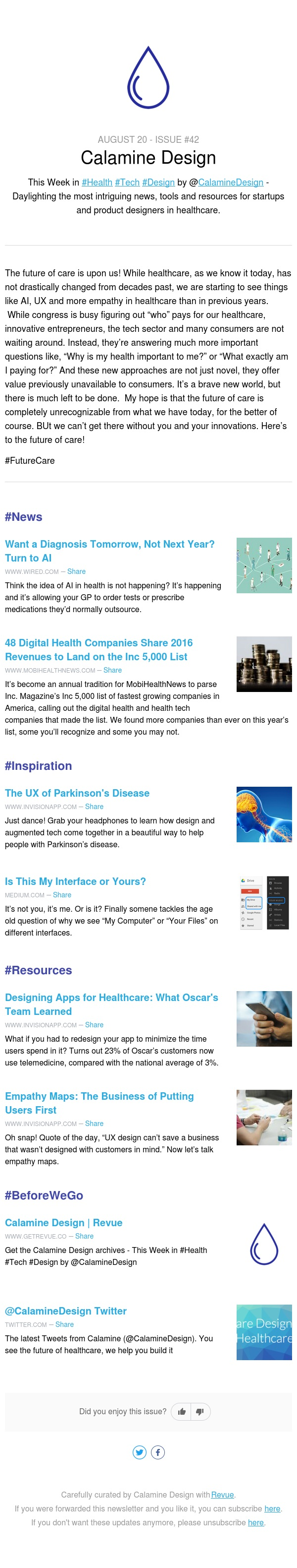 This Week in #Health #Tech #Design - Issue #42