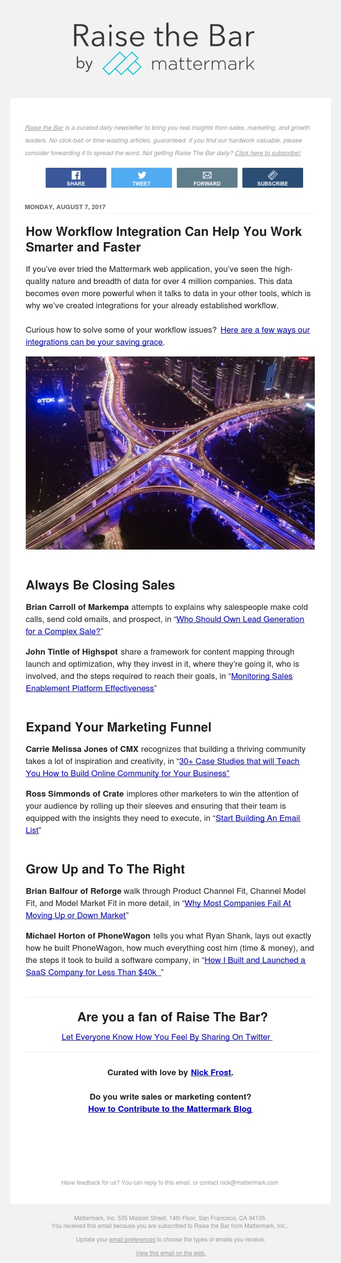 Raise The Bar - 30+ Marketing Case Studies, WTF is Lead Generation, and More