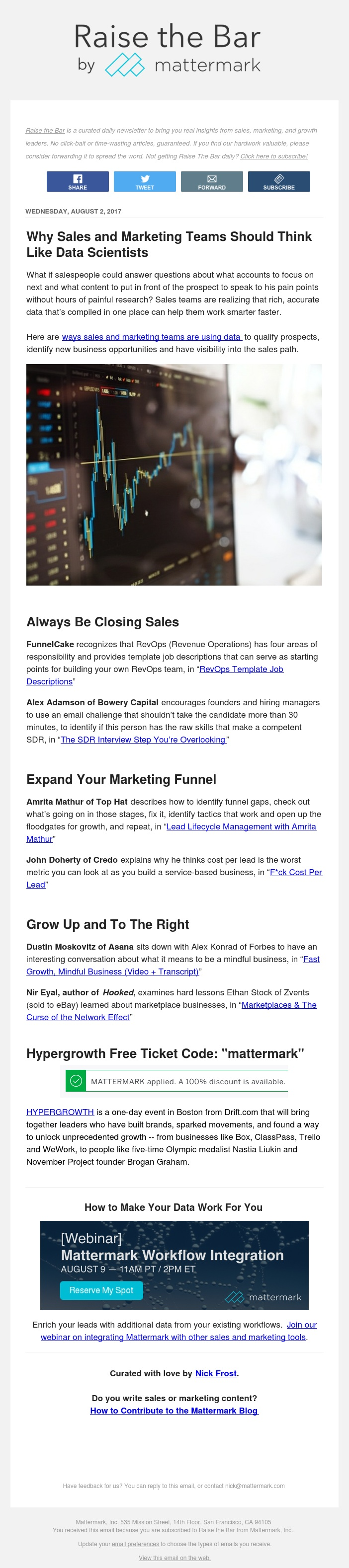 Raise The Bar - F*ck Cost Per Lead, Fast Growth, Mindful Business, and More