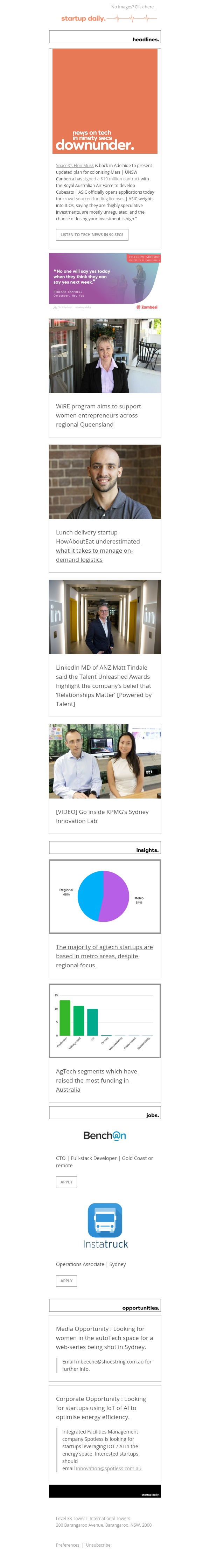 WiRE program aims to support women entrepreneurs across regional Queensland | Go inside KPMG's Sydney Innovation Lab
