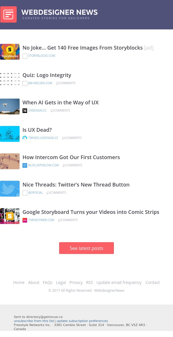 ✏ Is UX Dead? Logo Integrity Quiz, Twitter's New Thread Button, and more…