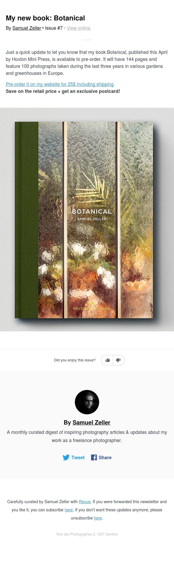 My new book: Botanical 🌿