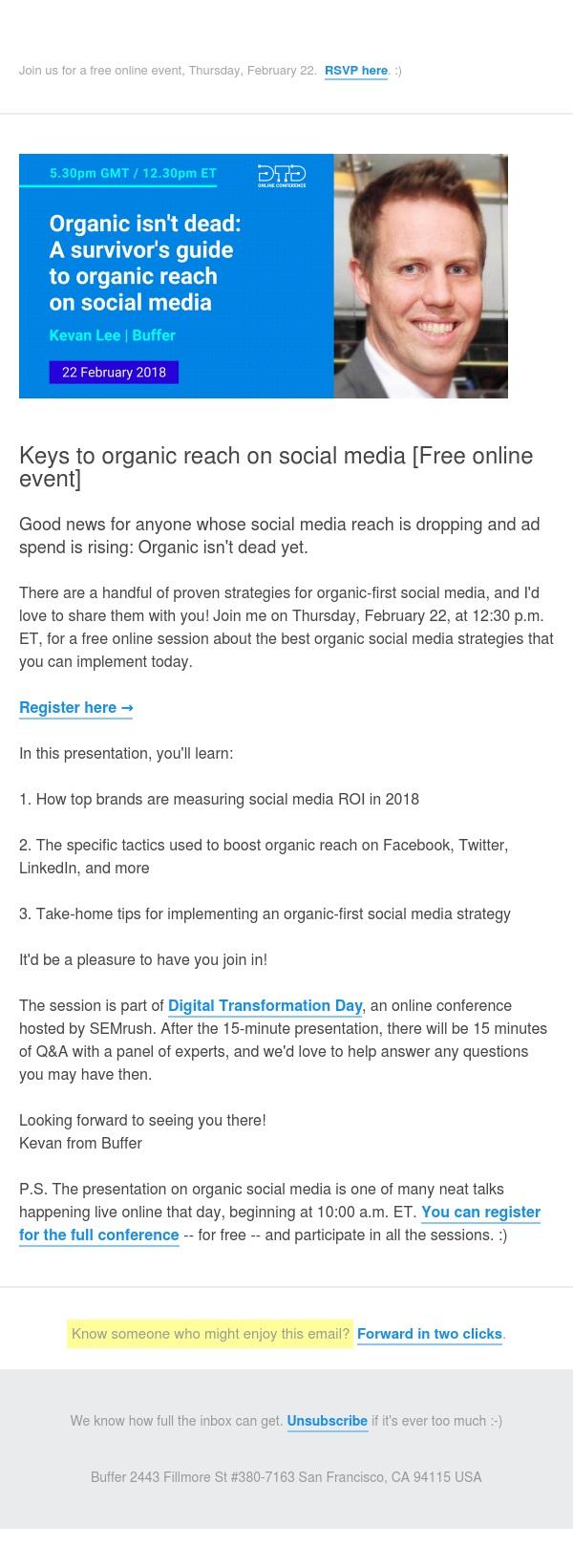 How to (still) get organic reach on social media
