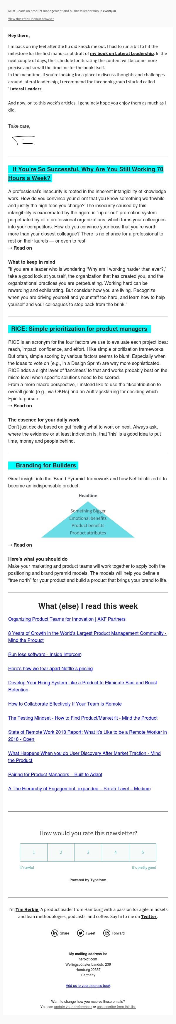 Branding for Builders