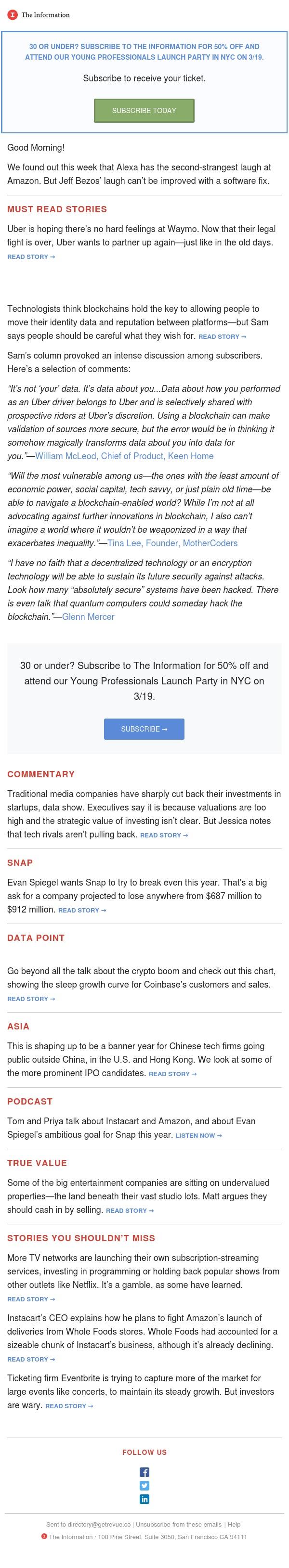 The Weekly Digest: Uber Hearts Waymo
