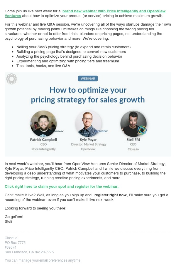 How to optimize your pricing strategy (live Q&A)
