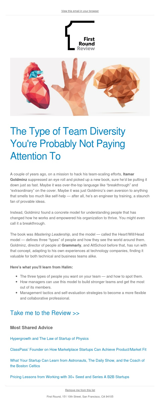 The model that changed how this Head of People views teams