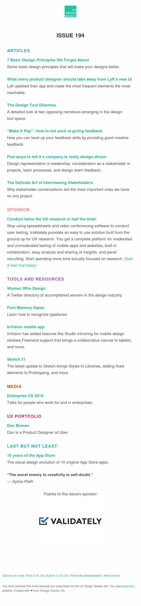 UX Design Weekly: 7 Basic Design Principles, Lyft's New UI, Design Tool Dilemma