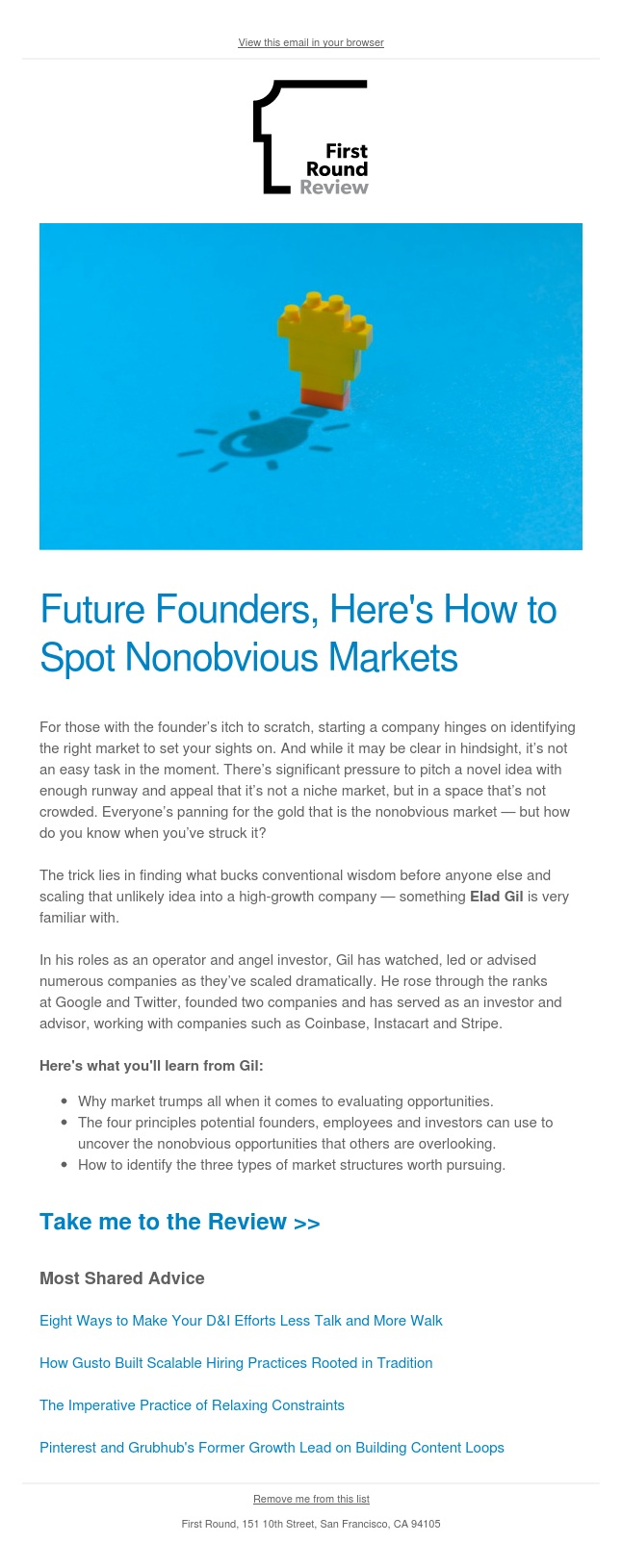 Elad Gil's guide to identifying nonobvious markets