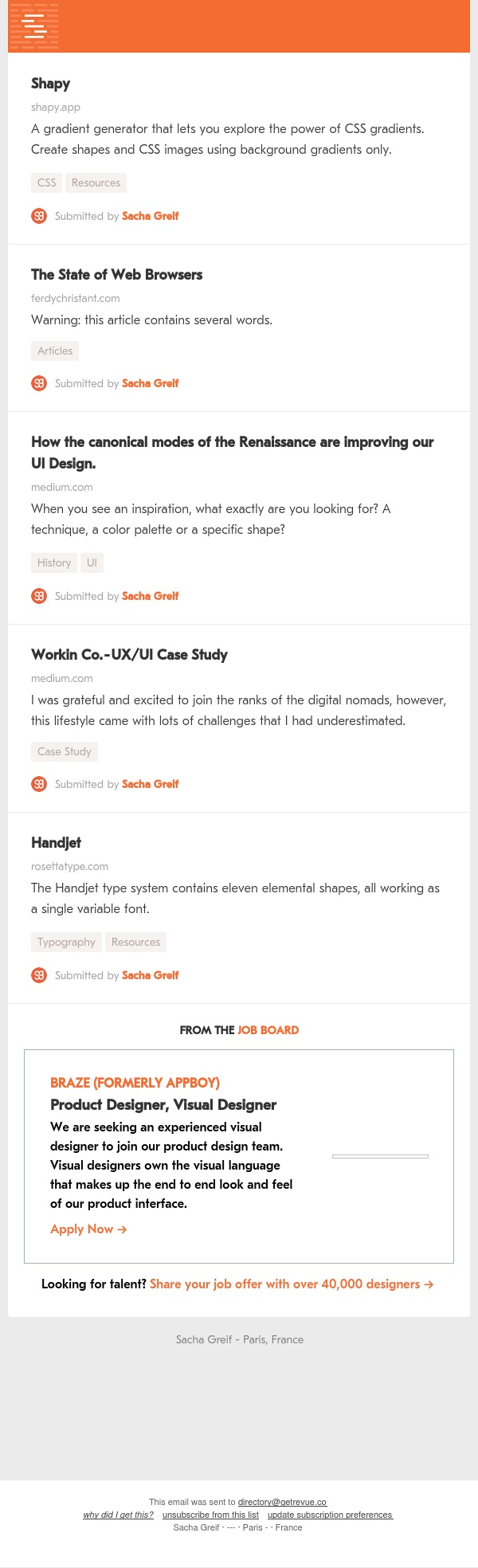 Shapy, Web Browsers, Renaissance, Workin Co, Handjet