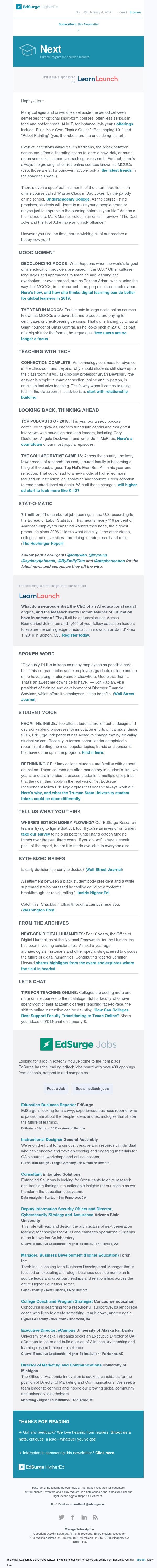Next 146: Decolonizing MOOCs; EdSurge's top podcasts for 2018