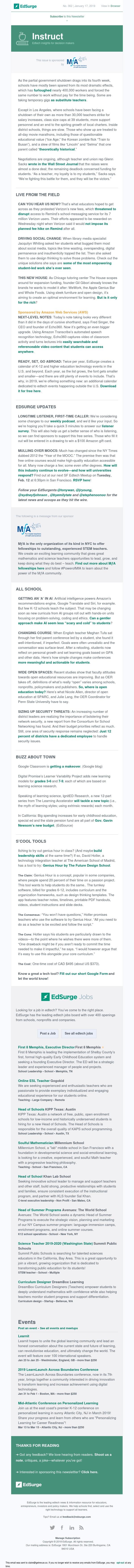 Instruct 362: Verizon walks back Remind fees; AI curricula for K-12