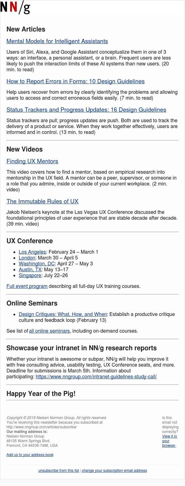 Intelligent Assistants | Form Errors | Status Trackers | UX Mentors | UX Rules