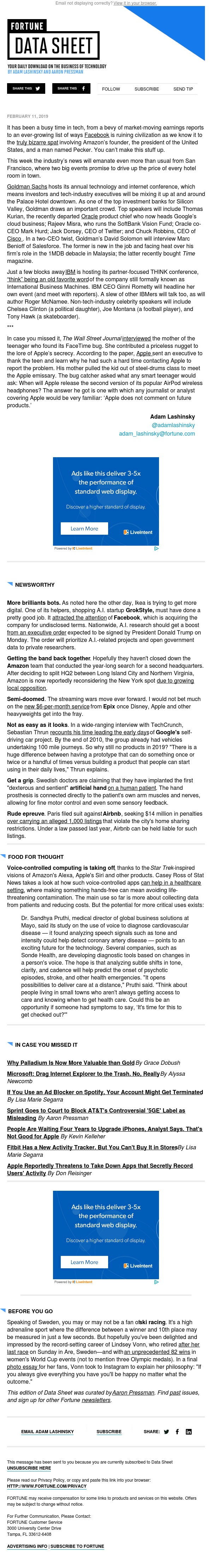 Inside Goldman's tech confab