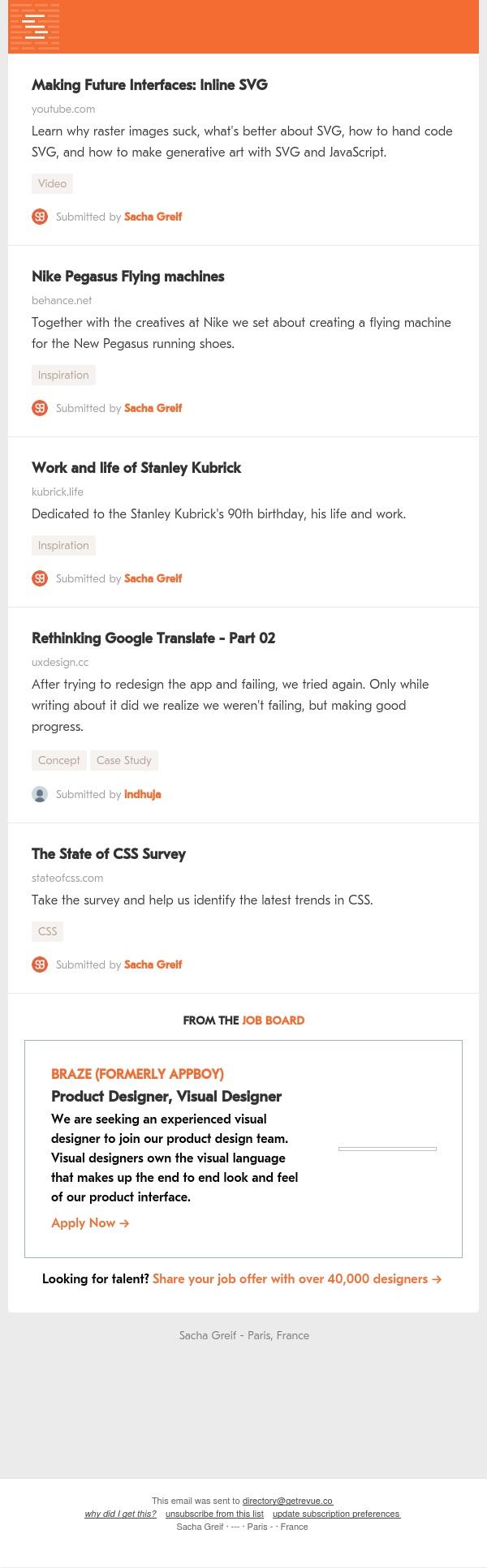 Inline SVG, Nike Pegasus, Stanley Kubrick, Google Translate, State of CSS