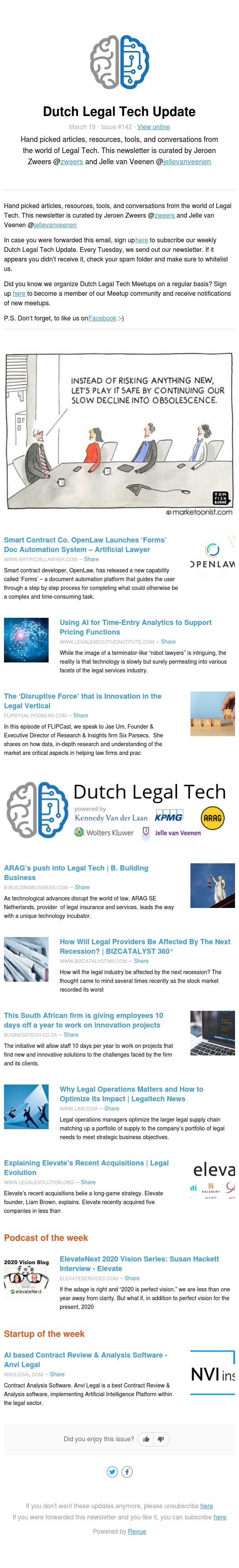 Dutch Legal Tech Update - Issue 142