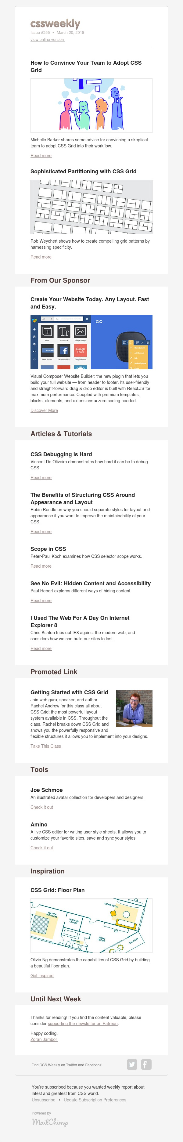 Issue #355: Adopting Grid, Debugging, Structuring CSS