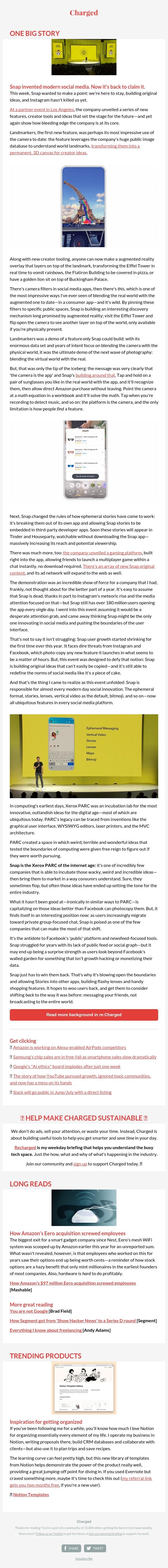 #189: Snapchat, social media's incubator, is back