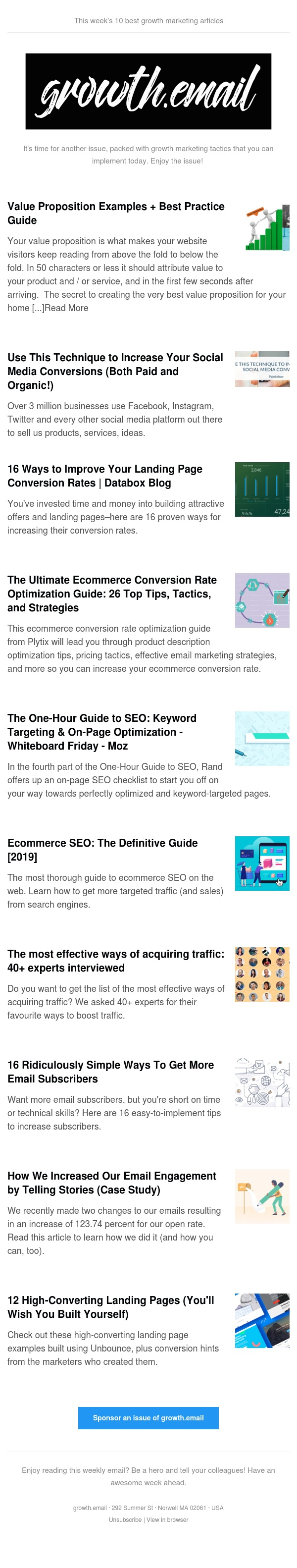 growth.email #91 Increase Social Media Conversions | Ultimate Conversion Rate Optimization Guide | Keyword Targeting | Ecommerce SEO | Email Engagement Strategy
