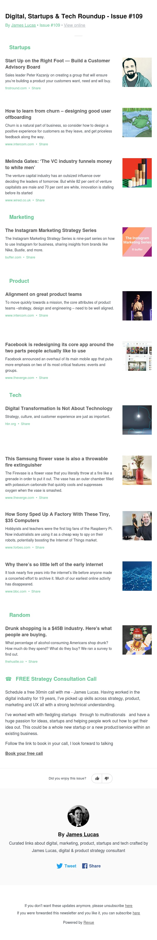 Digital, Startups & Tech Roundup - Issue #109