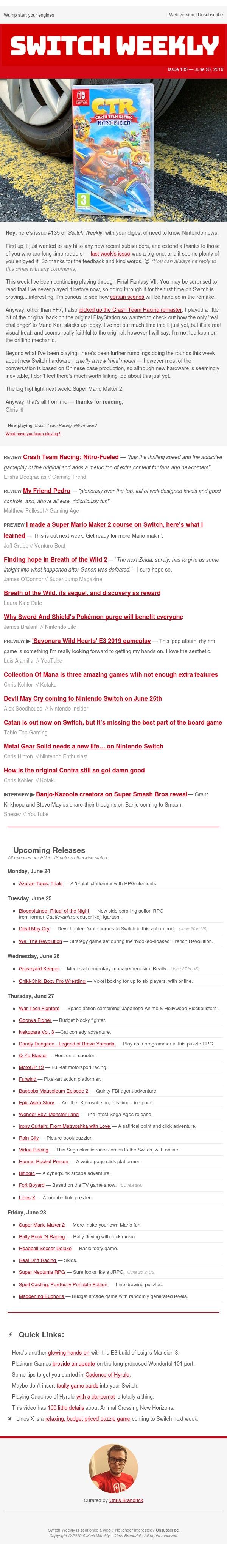 #135: Nintendo news round-up