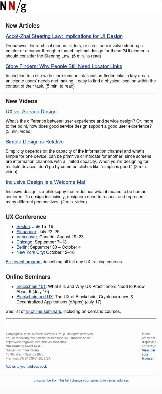 Accot-Zhai Steering Law | Store Finders | UX vs. Service Design | Simple Design | Inclusive Design