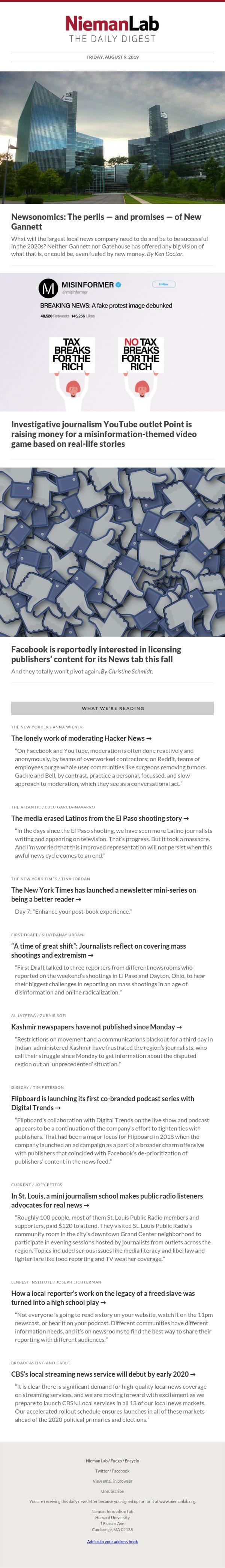 Newsonomics: The perils — and promises — of New Gannett