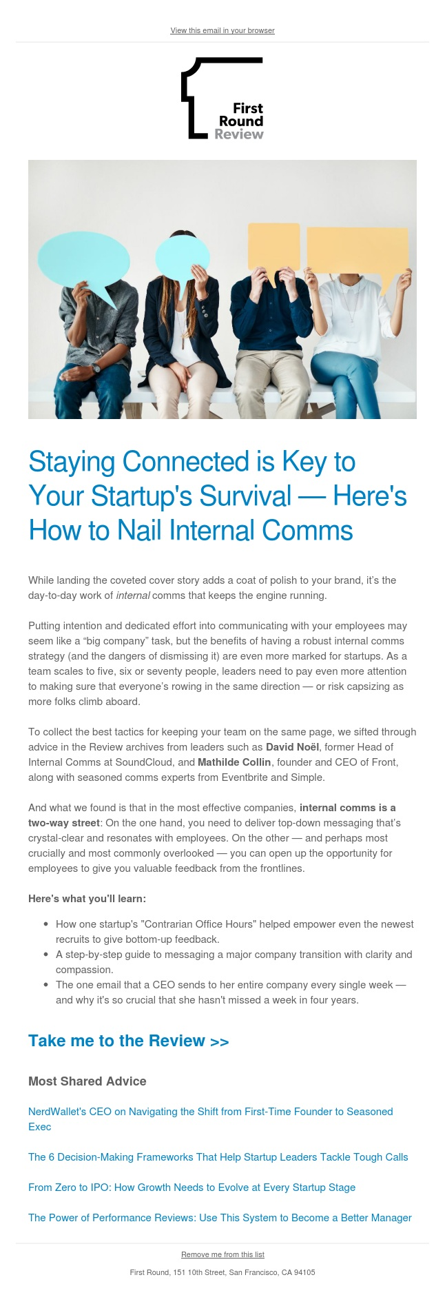 All Hands isn't enough—step up your internal comms game with these tactics