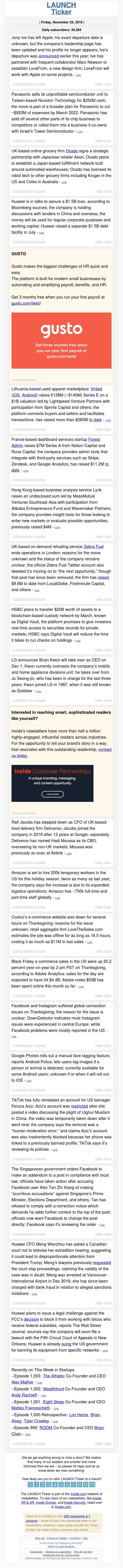 Jony Ive leaves Apple, Panasonic sells chip unit to Nuvoton for $250M