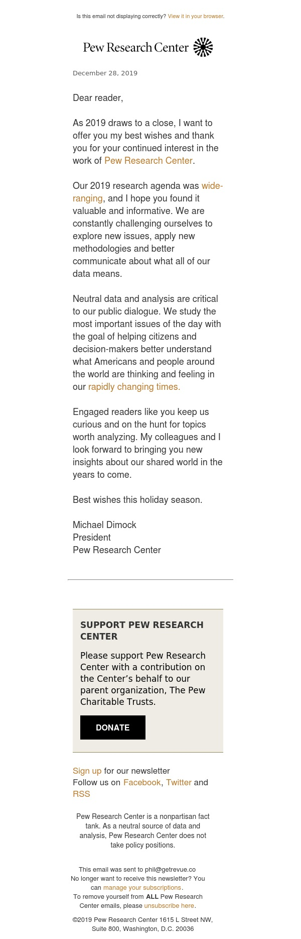 Happy New Year from Pew Research Center
