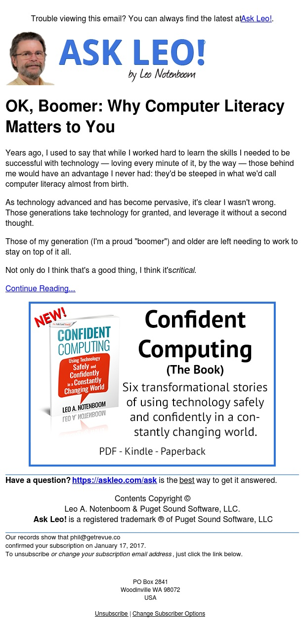 OK, Boomer: Why Computer Literacy Matters to You