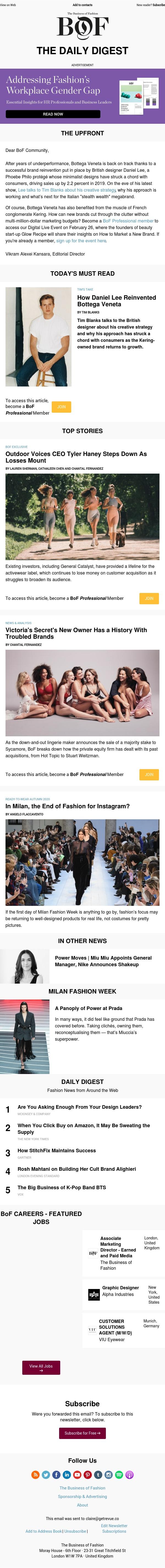 Inside Bottega Veneta's Reinvention