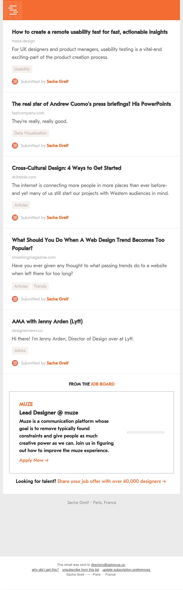 Usability Test, Cuomo PowerPoints, Cross-Cultural Design, Too Popular, Jenny Arden AMA