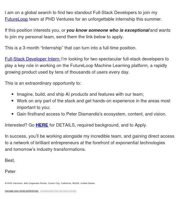 Summer Internship/Mentorship Opportunity in AI/ML (Full-Stack Developers)