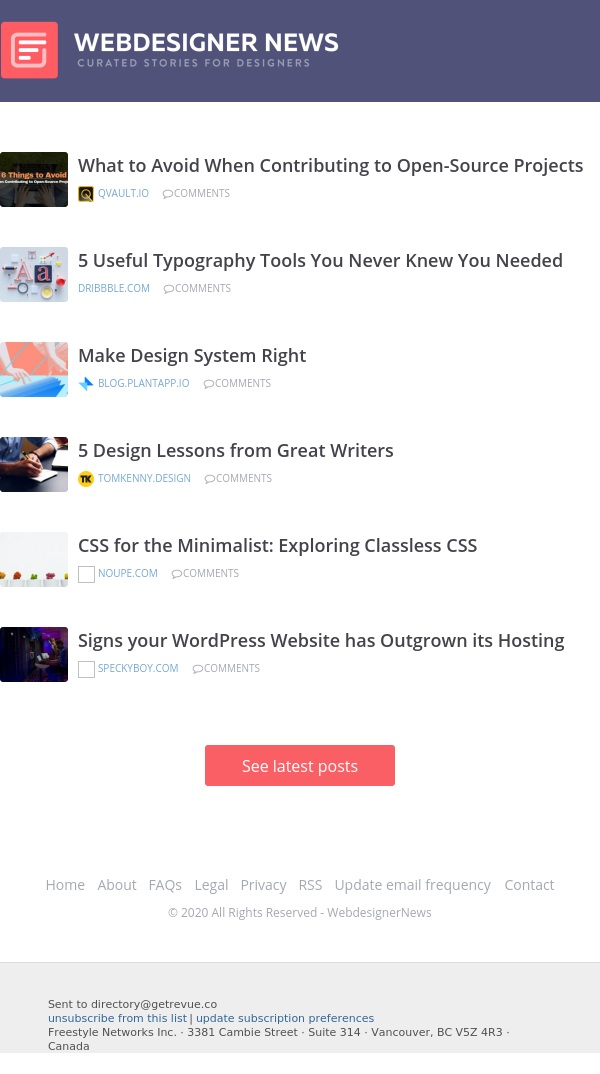 ✏ Exploring Classless CSS, 5 Useful Typography Tools, Make Design System Right, and more...