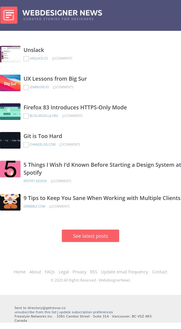✏ UX Lessons from Big Sur, Firefox's HTTPS-Only Mode, Git is Too Hard, and more…
