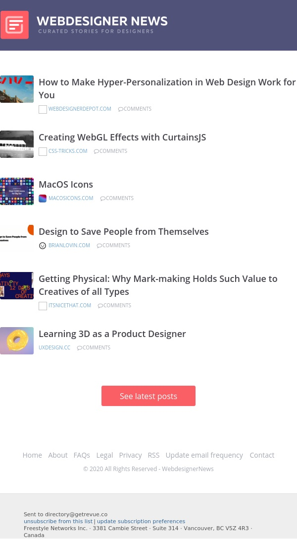 ✏ Hyper-Personalization in Web Design, MacOS Icons, Learning 3D, and more…