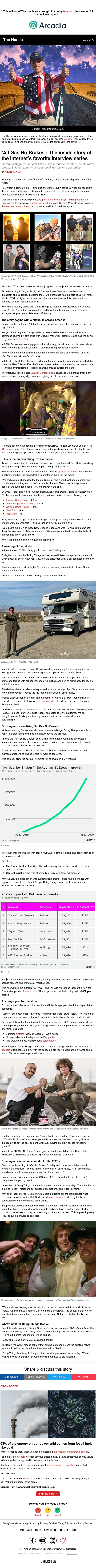 "How ""All Brakes No Gas"" went from 0 to 1m Insta followers"